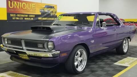 1970 Dodge Dart for sale at UNIQUE SPECIALTY & CLASSICS in Mankato MN