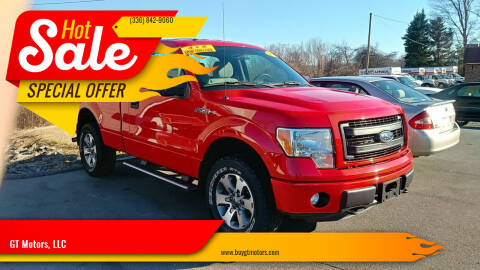 2013 Ford F-150 for sale at GT Motors, LLC in Elkin NC
