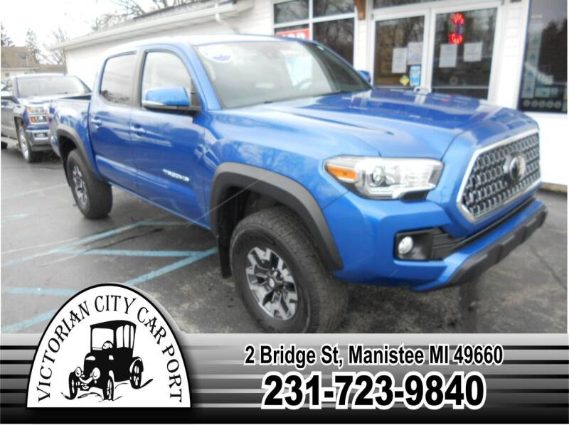 2018 Toyota Tacoma for sale at Victorian City Car Port INC in Manistee MI