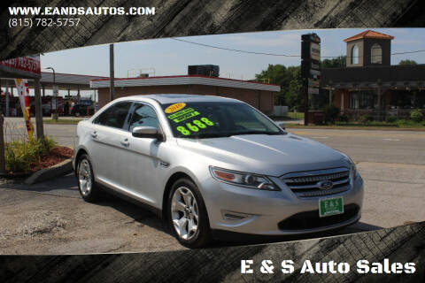 2010 Ford Taurus for sale at E & S Auto Sales in Crest Hill IL