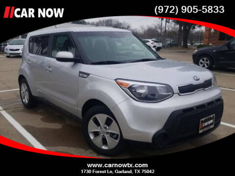 2016 Kia Soul for sale at Car Now Dallas in Dallas TX