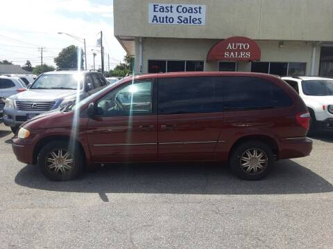 2007 Chrysler Town and Country for sale at East Coast Auto Sales llc in Virginia Beach VA