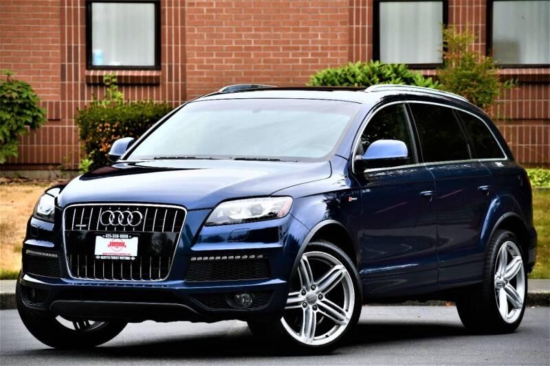 2011 Audi Q7 for sale at SEATTLE FINEST MOTORS in Lynnwood WA