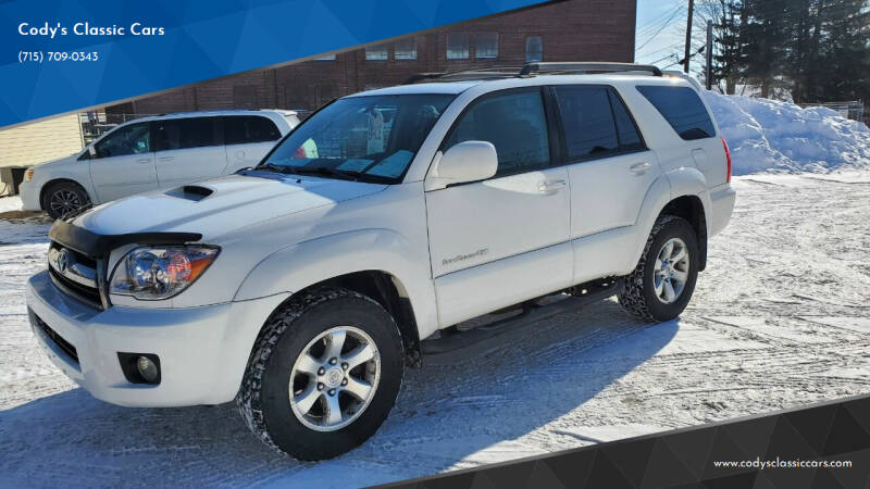 2007 Toyota 4Runner for sale at Cody's Classic Cars in Stanley WI