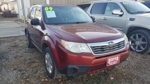 2009 Subaru Forester for sale at Buena Vista Auto Sales in Storm Lake IA