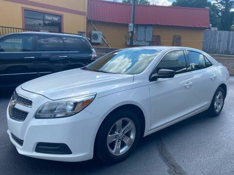 2013 Chevrolet Malibu for sale at Viewmont Auto Sales in Hickory NC