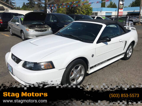 2004 Ford Mustang for sale at Stag Motors in Portland OR