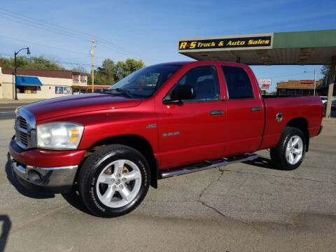 2008 Dodge Ram Pickup 1500 for sale at R & S TRUCK & AUTO SALES in Vinita OK