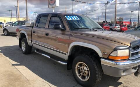 2000 Dodge Dakota for sale at Independent Auto Sales in Spokane Valley WA