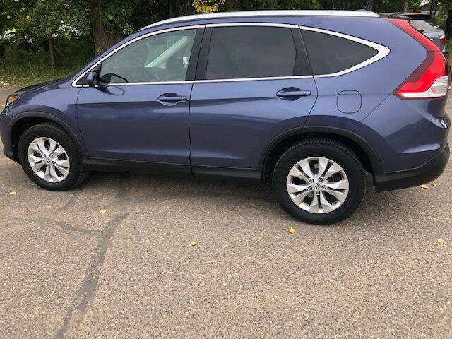 2013 Honda CR-V for sale at AM Auto Sales in Forest Lake MN