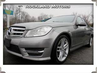 2013 Mercedes-Benz C-Class for sale at Rockland Automall - Rockland Motors in West Nyack NY