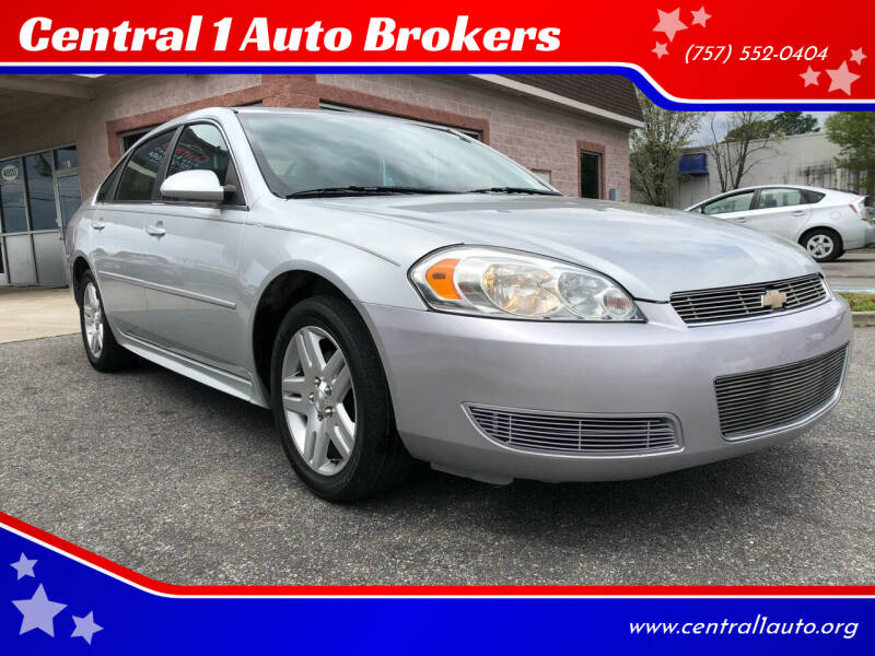 2014 Chevrolet Impala Limited for sale at Central 1 Auto Brokers in Virginia Beach VA