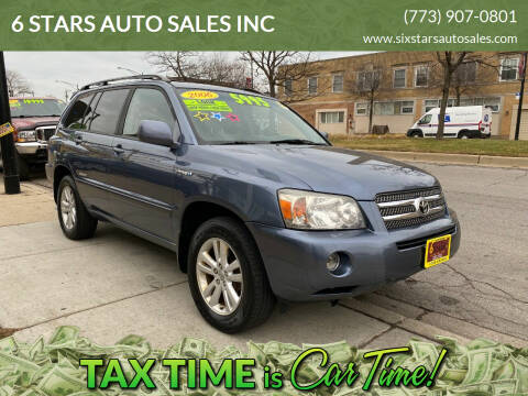 2006 Toyota Highlander Hybrid for sale at 6 STARS AUTO SALES INC in Chicago IL