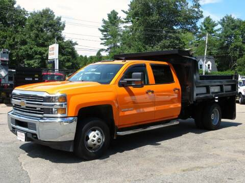 2015 Chevrolet Silverado 3500HD CC for sale at Auto Towne in Abington MA