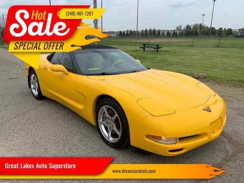 2004 Chevrolet Corvette for sale at Great Lakes Auto Superstore in Pontiac MI