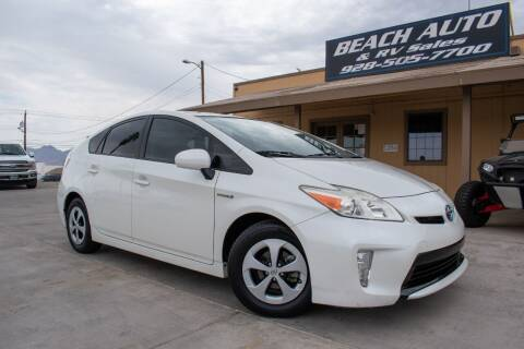 2014 Toyota Prius for sale at Beach Auto and RV Sales in Lake Havasu City AZ