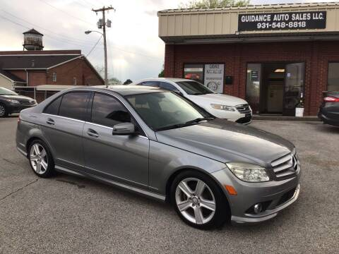 2010 Mercedes-Benz C-Class for sale at Guidance Auto Sales LLC in Columbia TN