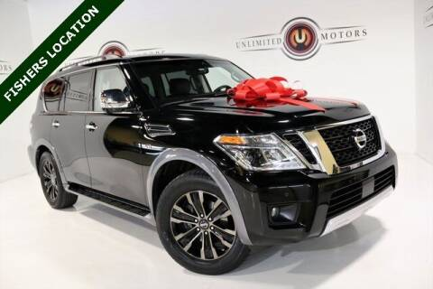 2017 Nissan Armada for sale at Unlimited Motors in Fishers IN