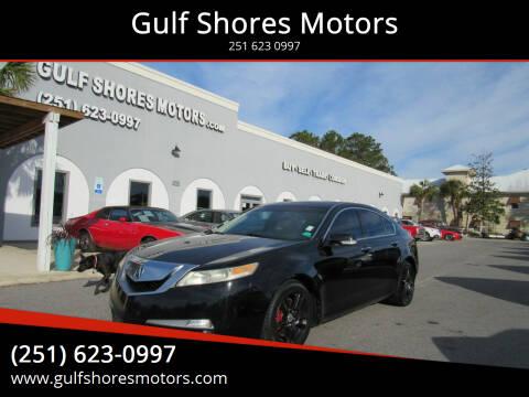 2009 Acura TL for sale at Gulf Shores Motors in Gulf Shores AL