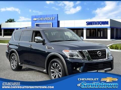 2019 Nissan Armada for sale at CHEVROLET OF SMITHTOWN in Saint James NY