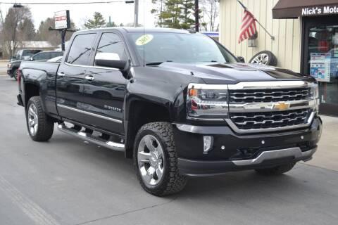 2017 Chevrolet Silverado 1500 for sale at Nick's Motor Sales LLC in Kalkaska MI