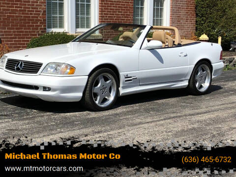 2000 Mercedes-Benz SL-Class for sale at Michael Thomas Motor Co in Saint Charles MO