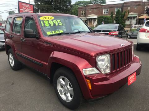 2012 Jeep Liberty for sale at Alexander Antkowiak Auto Sales in Hatboro PA