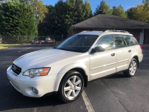 2006 Subaru Outback for sale at GTO United Auto Sales LLC in Lawrenceville GA