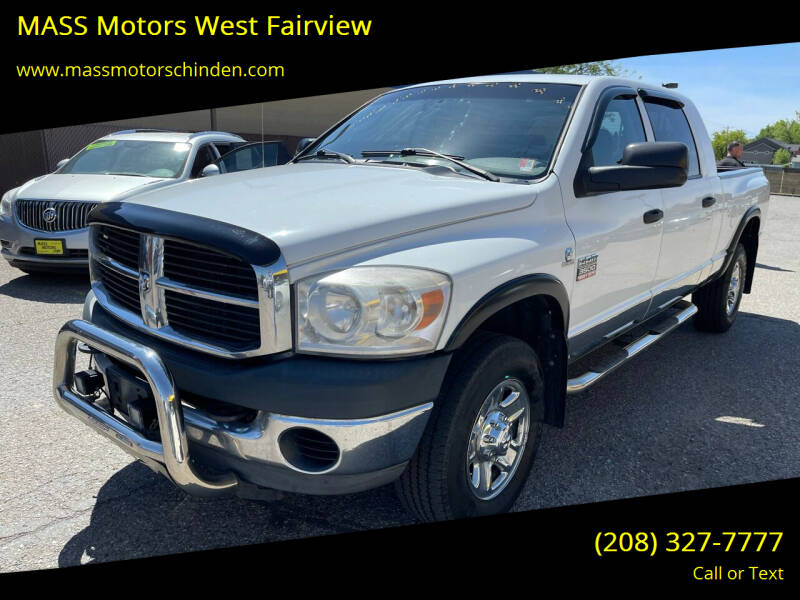 2008 Dodge Ram Pickup 3500 for sale at M.A.S.S. Motors - West Fairview in Boise ID