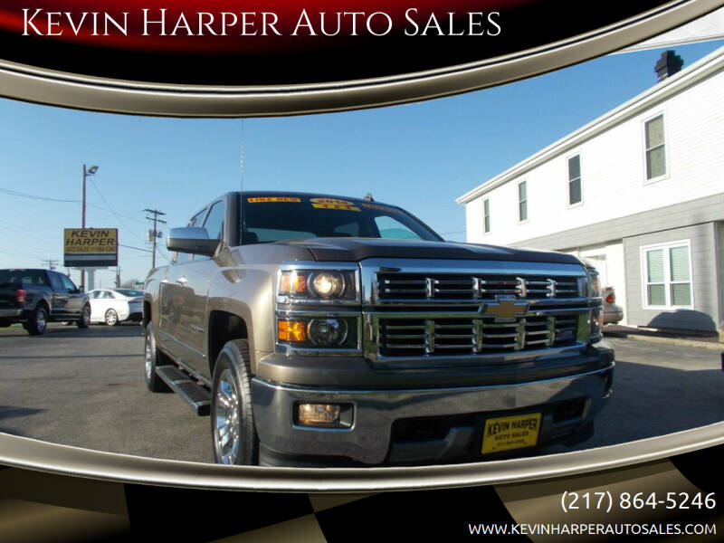 2014 Chevrolet Silverado 1500 for sale at Kevin Harper Auto Sales in Mount Zion IL