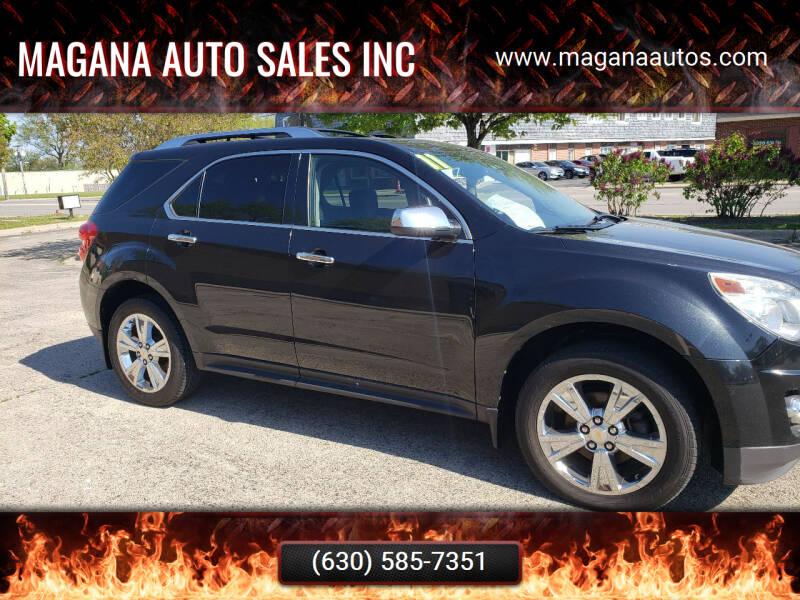 2011 Chevrolet Equinox for sale at Magana Auto Sales Inc in Aurora IL
