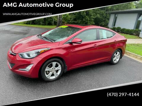 2016 Hyundai Elantra for sale at AMG Automotive Group in Cumming GA