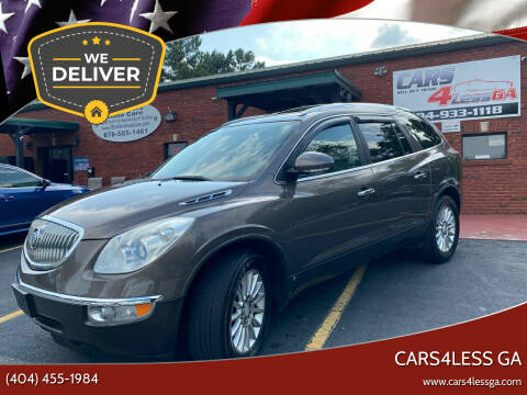 2008 Buick Enclave for sale at Cars4Less GA in Alpharetta GA
