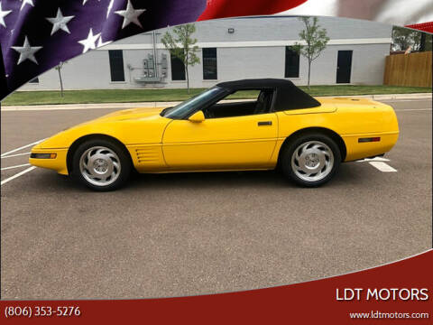 1994 Chevrolet Corvette for sale at LDT MOTORS in Amarillo TX