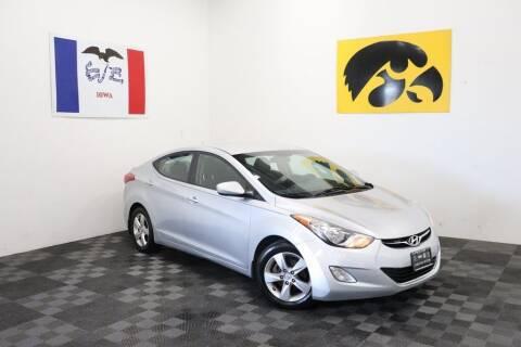 2012 Hyundai Elantra for sale at Carousel Auto Group in Iowa City IA