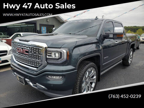 2018 GMC Sierra 1500 for sale at Hwy 47 Auto Sales in Saint Francis MN