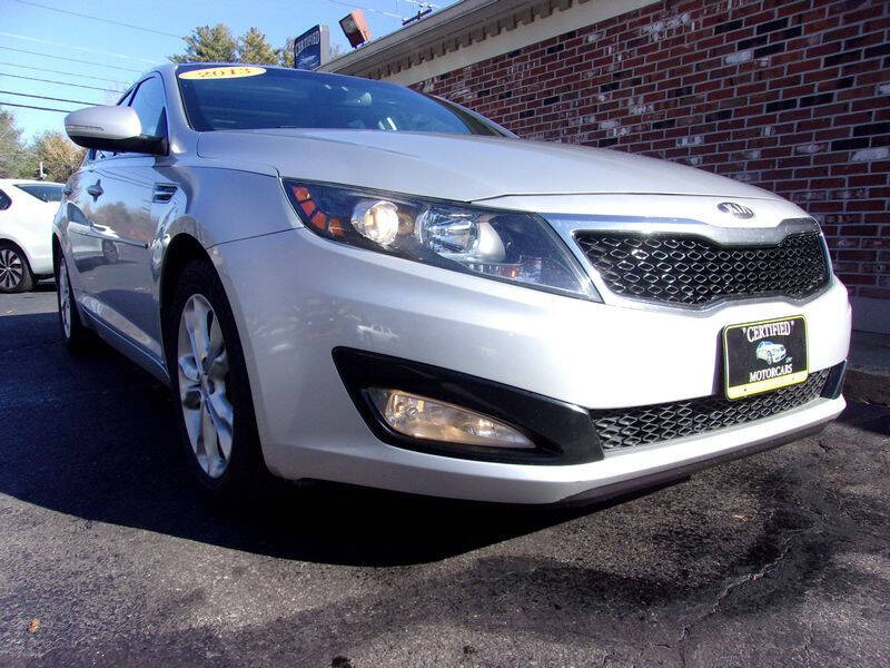 2013 Kia Optima for sale at Certified Motorcars LLC in Franklin NH