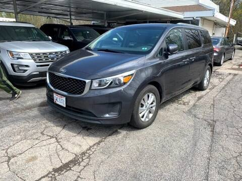 2015 Kia Sedona for sale at Ohio Auto Connection Inc in Maple Heights OH