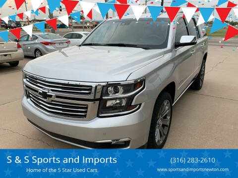 2016 Chevrolet Tahoe for sale at S & S Sports and Imports in Newton KS