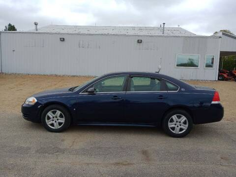 2009 Chevrolet Impala for sale at Steve Winnie Auto Sales in Edmore MI