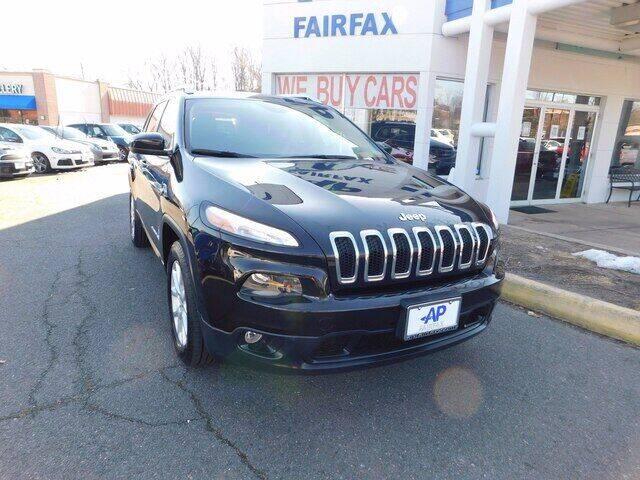 2015 Jeep Cherokee for sale at AP Fairfax in Fairfax VA