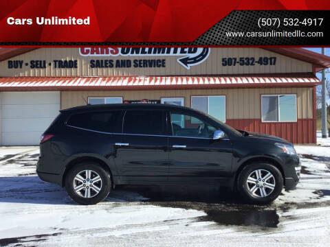 2015 Chevrolet Traverse for sale at Cars Unlimited in Marshall MN
