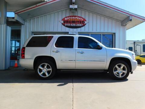 2014 Chevrolet Tahoe for sale at Motorsports Unlimited in McAlester OK