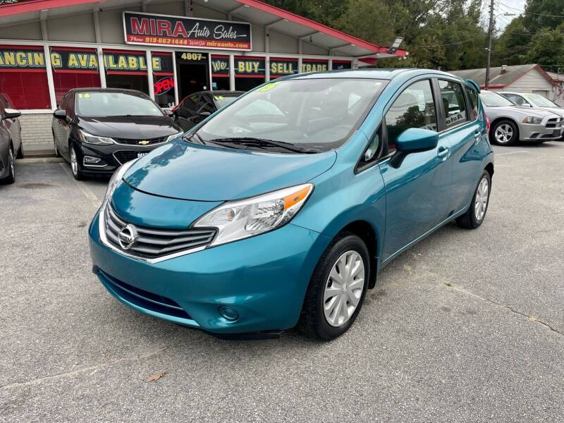 2015 Nissan Versa Note for sale at Mira Auto Sales in Raleigh NC