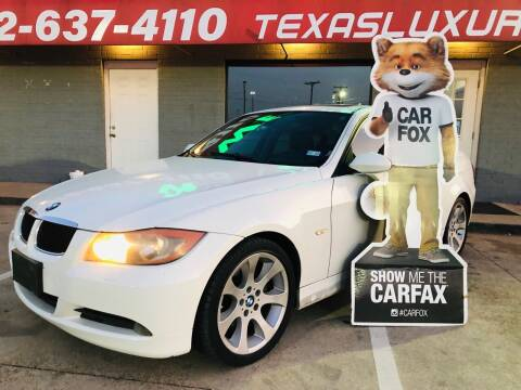 2006 BMW 3 Series for sale at Texas Luxury Auto in Cedar Hill TX