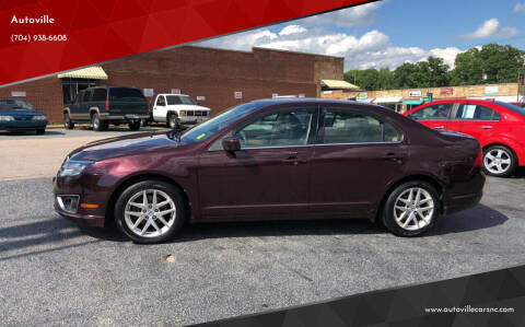 2011 Ford Fusion for sale at Autoville in Kannapolis NC