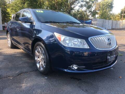 2011 Buick LaCrosse for sale at PARK AVENUE AUTOS in Collingswood NJ