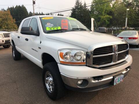 2006 Dodge Ram Pickup 1500 for sale at Freeborn Motors in Lafayette, OR