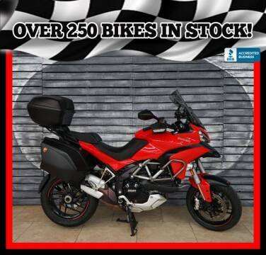 2014 Ducati Multistrada 1200 S for sale at AZautorv.com in Mesa AZ