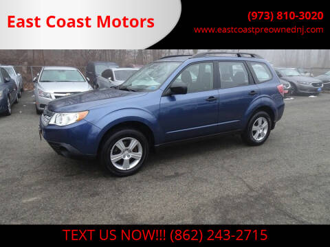 2011 Subaru Forester for sale at East Coast Motors in Lake Hopatcong NJ
